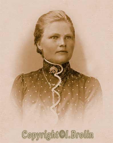 Kally, yngsta dottern till Per Oskar & Matilda Almgren