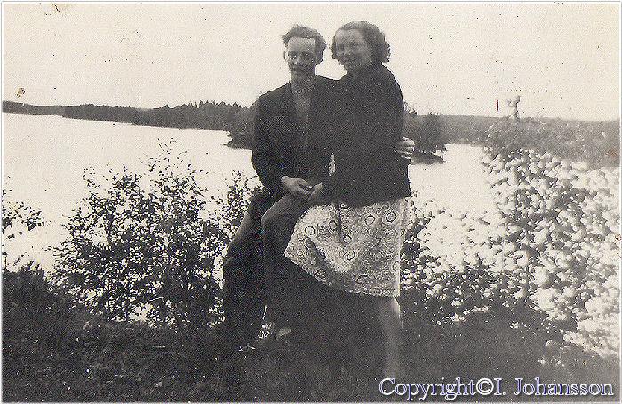 Tore Lindgren och Eivor Almgren i ungdomsdagar men var??